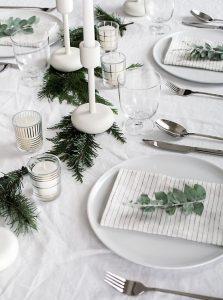 dresser une table noel