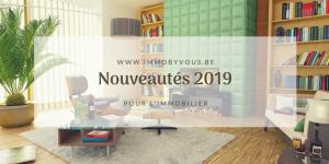 nouveauté immobilier 2019